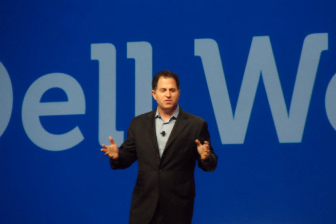 Michael Dell at Dell World