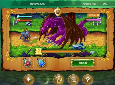 Doodle Kingdom lets you fight dragons.