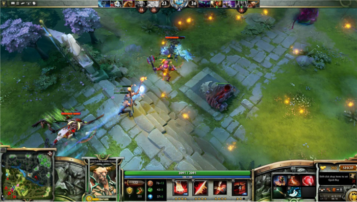 What are some of the best Dota 2 games to watch? : DotA2