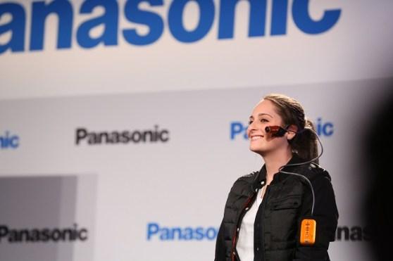 Panasonic face cam