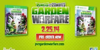 Plants vs. Zombies: Garden Warfare gets slight delay
