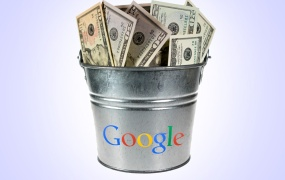 Google bucket of money