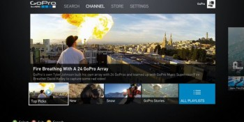 Video camera GoPro opens an extreme sports video channel on Xbox Live