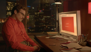 """Joaquin Phoenix in the AI love story """"Her."""""""