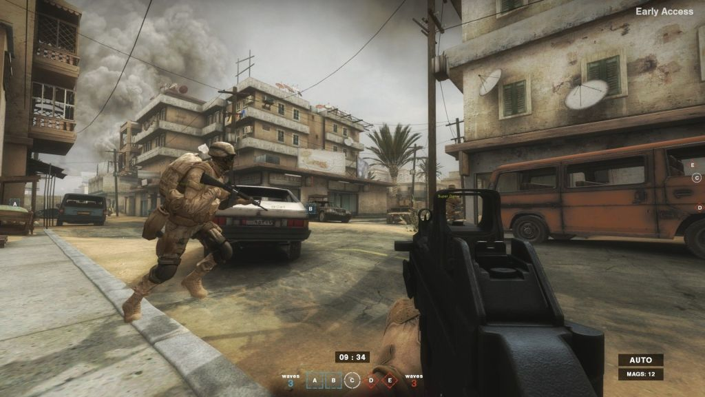 Insurgency's map look look gritty and battle-worn.