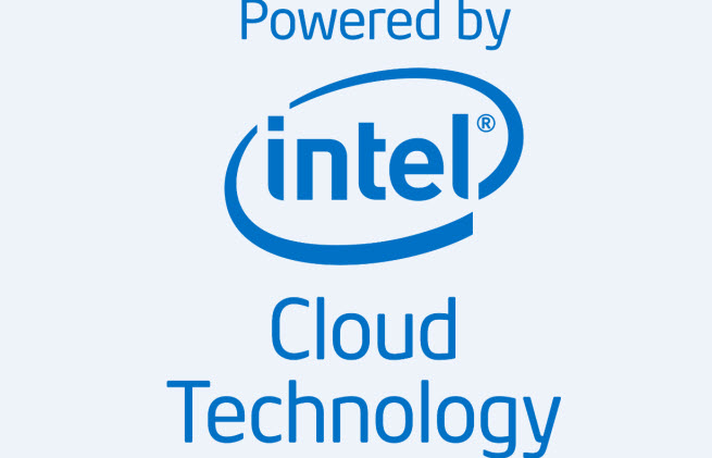 Intel's cloud transparency campaign logo.