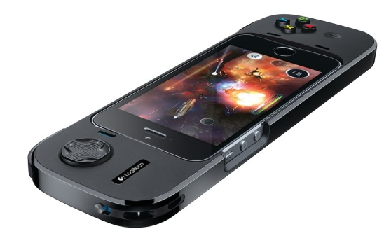 The Logitech PowerShell iOS game controller