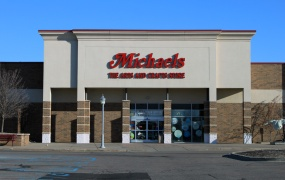A Michaels arts and crafts store in Canton, Michigan.