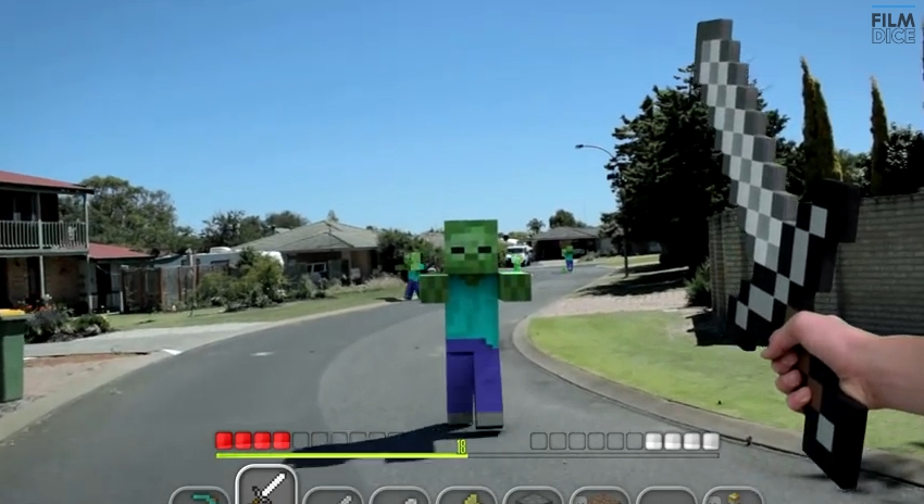 Gamers report visual distortions where the world resembles Minecraft blocks.