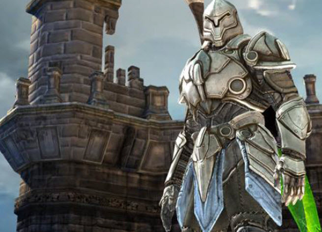 The Infinity Blade series is an example of better mobile 3D graphics.