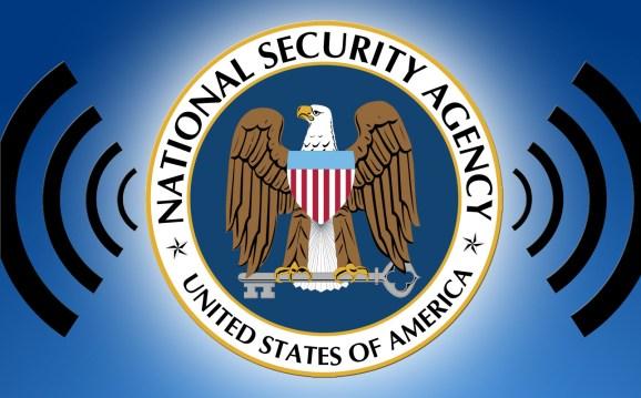 NSA radio waves
