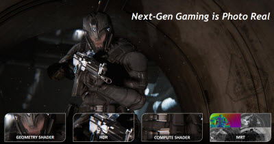 Get ready for next-generation mobile game graphics.