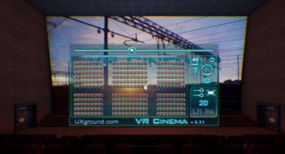 Oculus VR Cinema demo