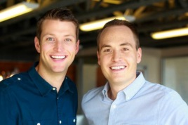 Outbox cofounders Evan Baehr and Will Davis