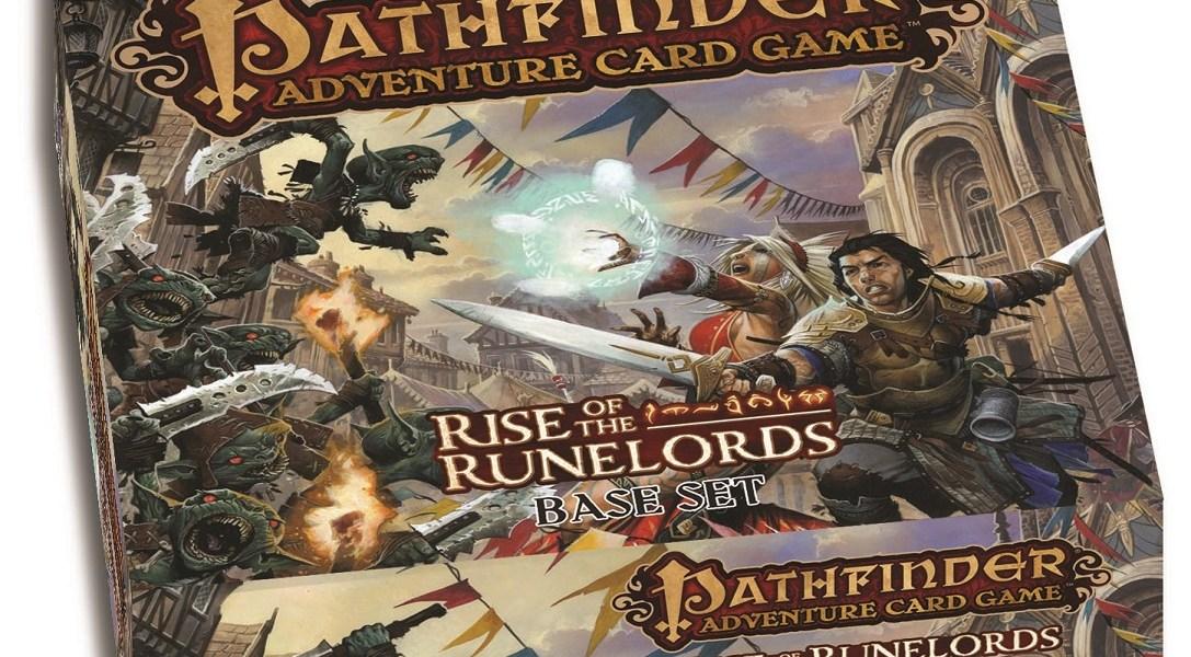 Pathfinder Adventure Card Game - box