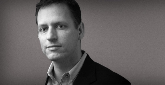 Founders Fund partner Peter Thiel.