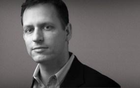 Founders Fund partner Peter Thiel.