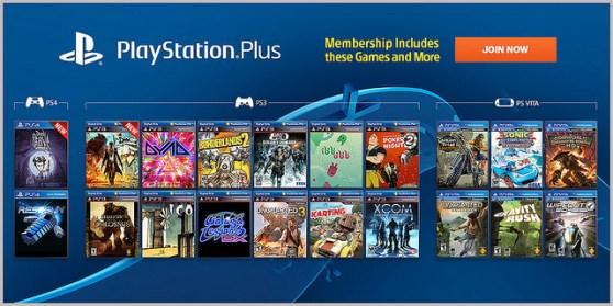 PlayStation Plus in Jan. 2014