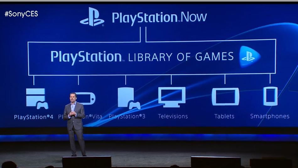 PlayStation Now can stream PlayStation games to a number of devices.