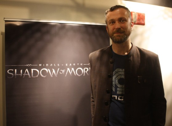 Michael De Plater, design director of Middle-earth: Shadow of Mordor, by WBIE