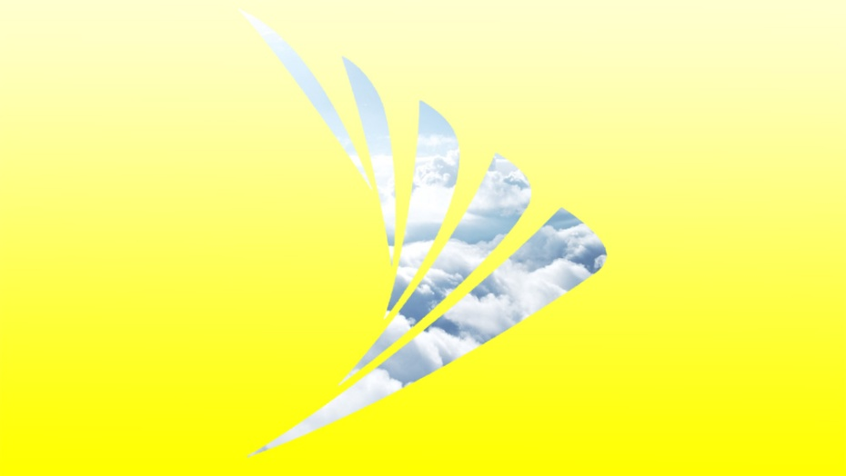 Sprint logo cloudy