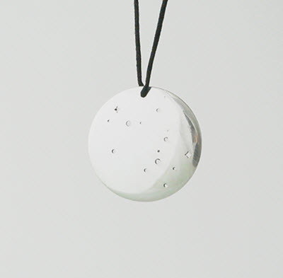 At Dyo.co, you can design pendants like this starscape pendant.