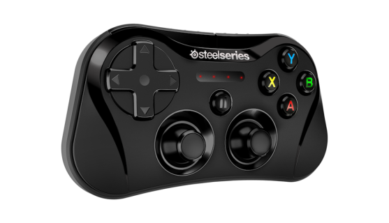The SteelSeries Stratus iOS game controller