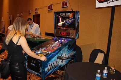Limited edition Star Trek pinball machine from Stern Pinball