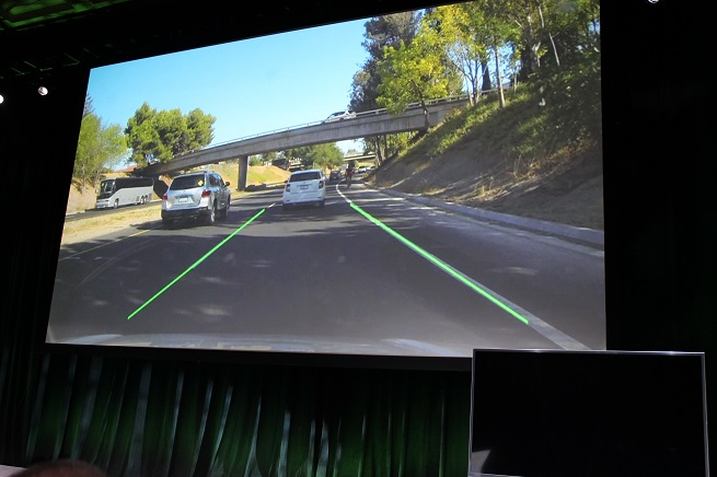 Tegra K1 will help you drive your car better.