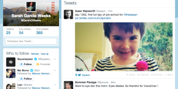 Twitter users: Expect to see a new web design soon