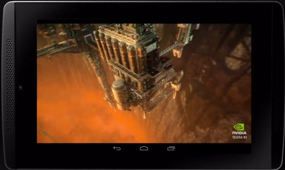 Unreal Engine 4 games can run just fine on Nvidia's Tegra K1