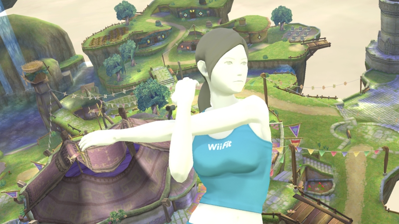 Wii Fit trainer preparing to kick some patent-troll ass.