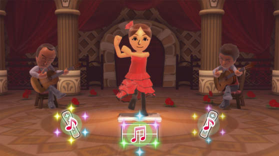 Wii Fit U Flamenco