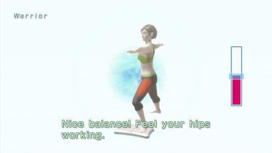 Wii Fit U yoga