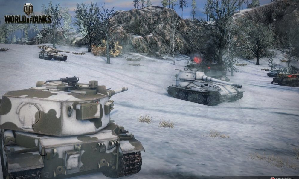 world of tanks combat screenshot