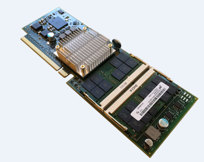 AMD Opteron server board with ARM-based chip.