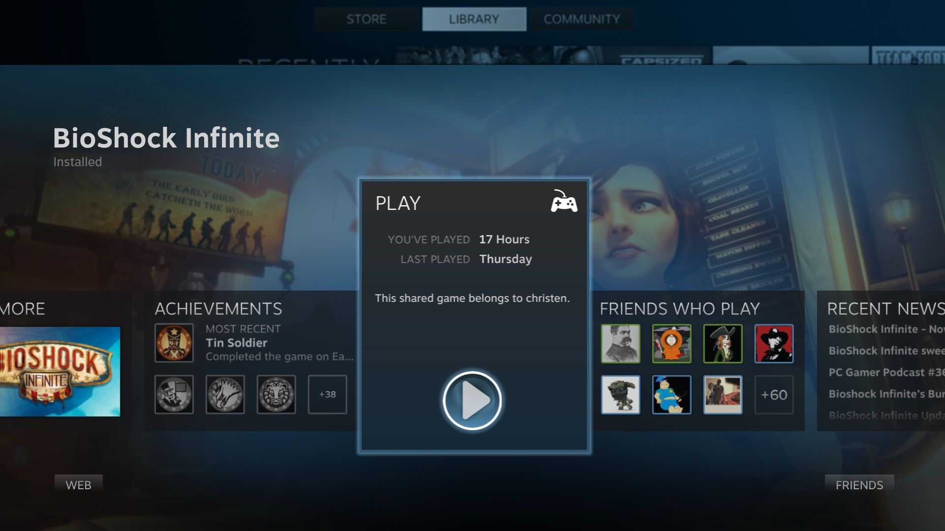 Family Sharing lets up to 10 others play your Steam games