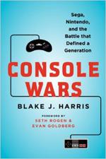The upcoming book that covers the story of Sega versus Nintendo.