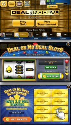 Deal or No Deal mini game