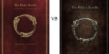 The Elder Scrolls Online Imperial vs Standard Edition preorder comparison