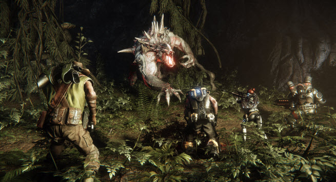 Evolve jungle fight