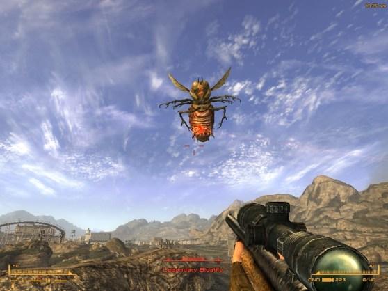 Killing a bloatfly