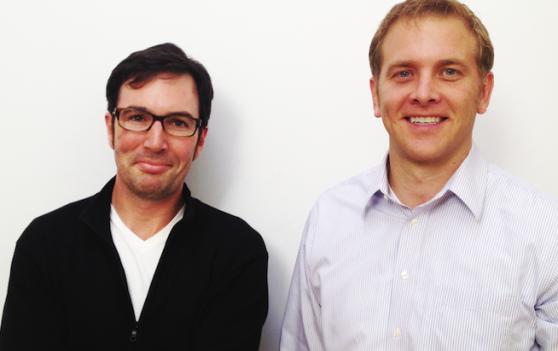 Entelo's founders Jon Bischke and John McGrath.