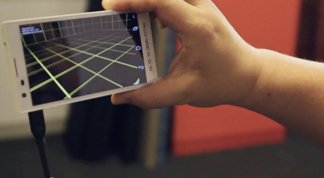 Google's Project Tango 3d mapping handst