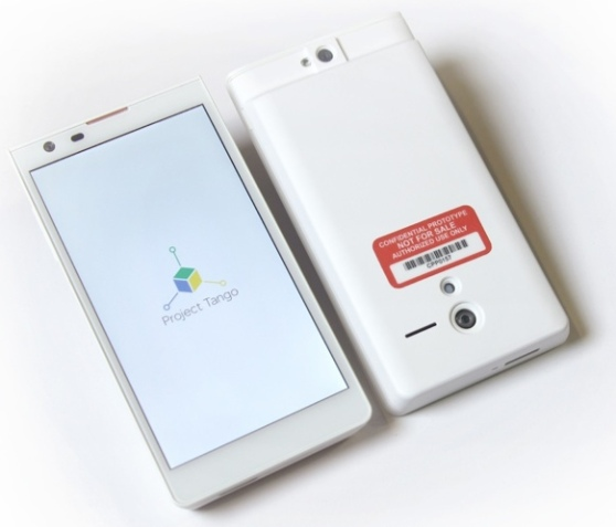 Google Project Tango prototype