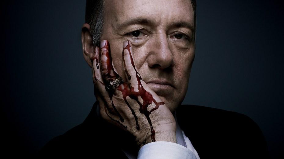 "Kevin Spacey as U.S. Representative Francis J. ""Frank"" Underwood."