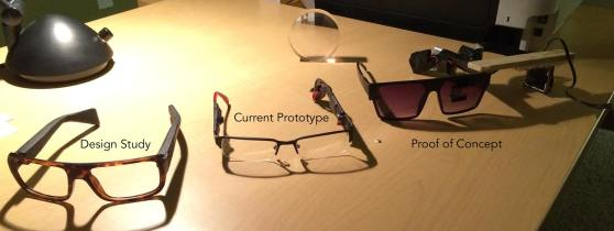 A look at Laforge Optical's Icis prototype specs.