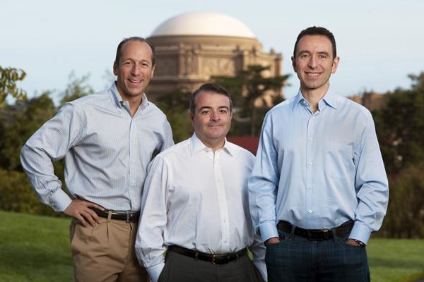 IDG Ventures partners Alexander Rosen, Pat Kenealy, and Phil Sanderson.