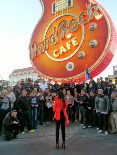 Ingress event in Las Vegas, where the Resistance won.