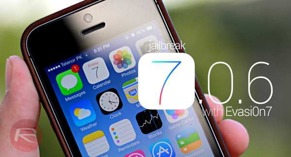 Jailbreaking iOS 7.0.6.
